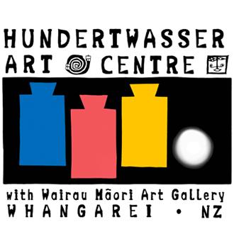 Hundertwasser Art Centre with Wairau Maori Art Gllery logo