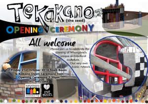 Public TeKakano unveiling invite