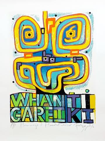 Dick Frizzle Print - Whangarei Tiki